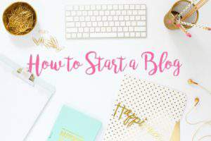 Want to learn how to start a blog? Here's a complete tutorial to get your on your way!