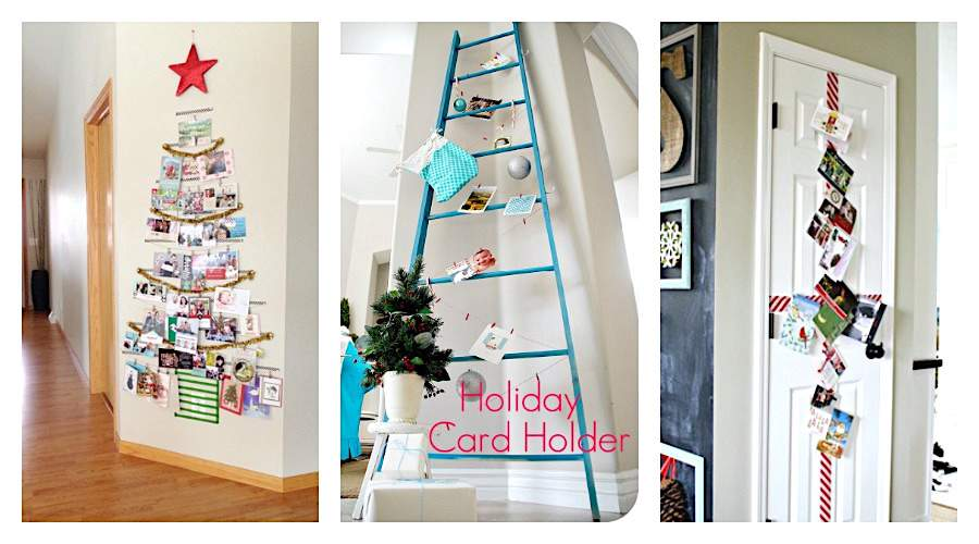 Looking for unique ways to display those Christmas cards this year? You won't want to miss this awesome round up of DIY holiday card display ideas (and product options if you're not the DIY-type!)