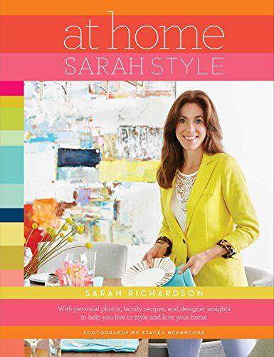 "At Home Sarah Style is just one of the ""Must Have"" books in this Home Design & Organizing Book Gift Guide from Refined Rooms"