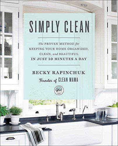 "Simply Clean is just one of the ""Must Have"" books in this Home Design & Organizing Book Gift Guide from Refined Rooms"