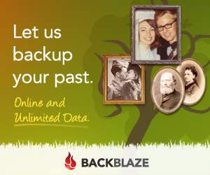 Backblaze computer backup ad.
