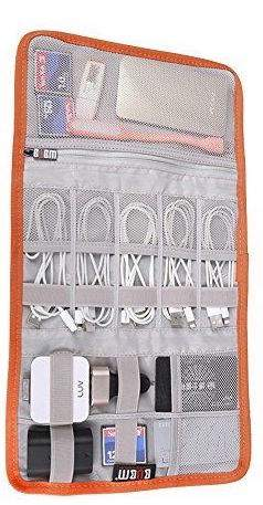 electronics accessories organizer roll.