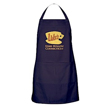 This Luke's Diner apron is a MUST HAVE for hard core Gilmore Girls fans! It made it into The Ultimate Gilmore Girls Gift Guide!