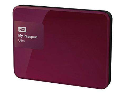 My Passport Ultra external hard drive.
