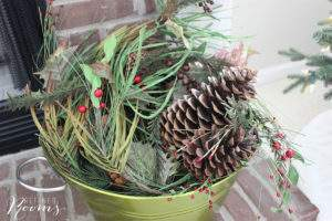 holiday decor organization trick: Store decor items together based on item category OR by location where you display items in your home
