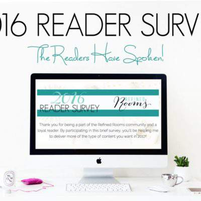 2016 READER SURVEY RESULTS & WHAT TO EXPECT IN 2017