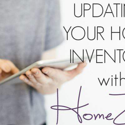 TIPS FOR UPDATING YOUR HOME INVENTORY