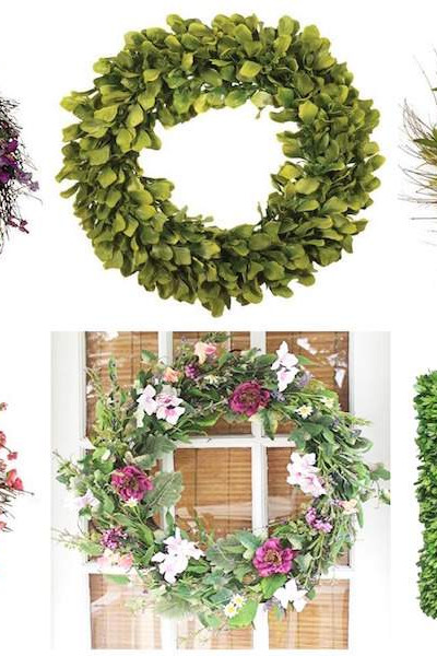 On the hunt for a new spring wreath? Check out this round up of 15 stunning options at Refined Rooms