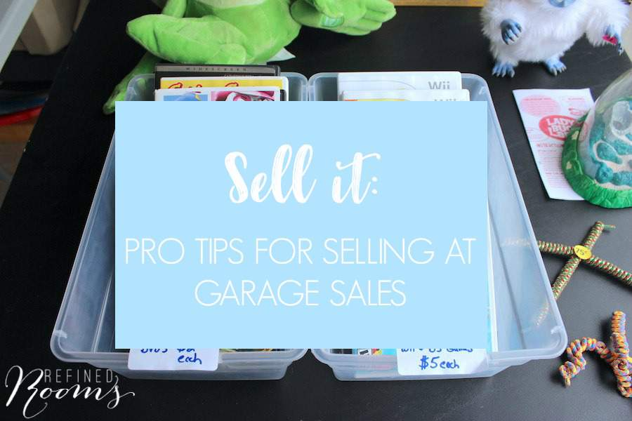 TIPS FOR MAXIMIZING GARAGE SALE PROFITS