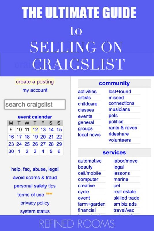 Got clutter? Turn it into cash by following these pro tips for selling on Craigslist