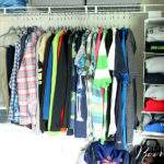 Come see how Tidy Living organizing products helped to transform my son's closet from chaotic to fabulous!