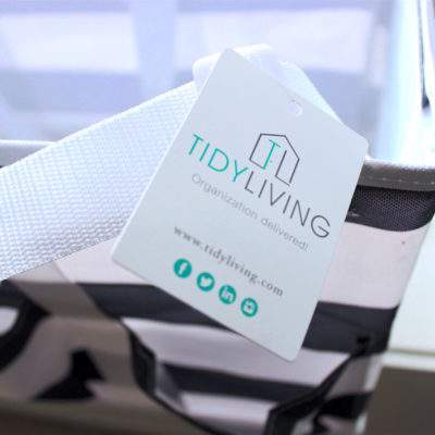 INTRODUCING TIDY LIVING HOME ORGANIZING PRODUCTS