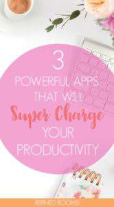 Looking to Super Charge your productivity? Check out these 3 powerful apps that will help you to get more DONE | productivity apps