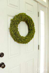 Check out this gorgeous collection of unique fall wreaths...including this one made from Reindeer moss