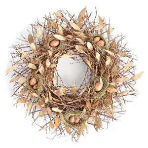 Check out this gorgeous collection of unique fall wreaths...including this one made of sticks