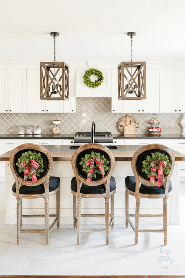 It's a holiday decor binge session! Feast your eyes on 7 breathtaking Christmas home tours including this one at Home Stories A to Z