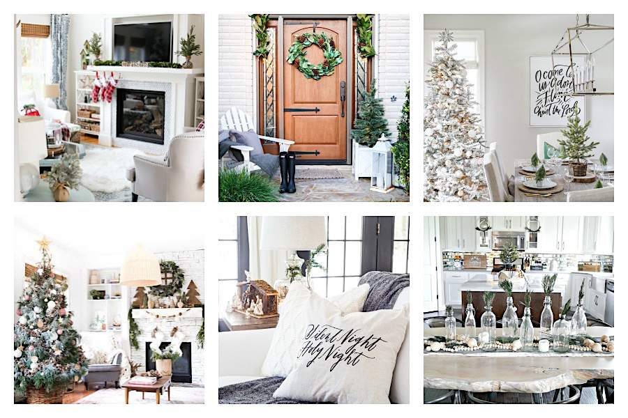 7 BREATHTAKING CHRISTMAS HOME TOURS – CELEBRATE THE SEASON!