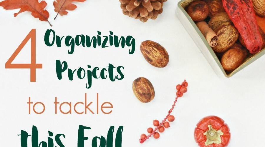 Feeling the urge to get organized this fall? Check out these 4 fall organizing projects to FINALLY conquer this year! #refinedrooms #homeorganization #organizingtips #organizingprojects #fallorganization #organizingtips