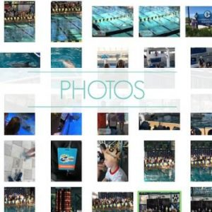 "grid of digital photo thumbnail images - text ""photos""."
