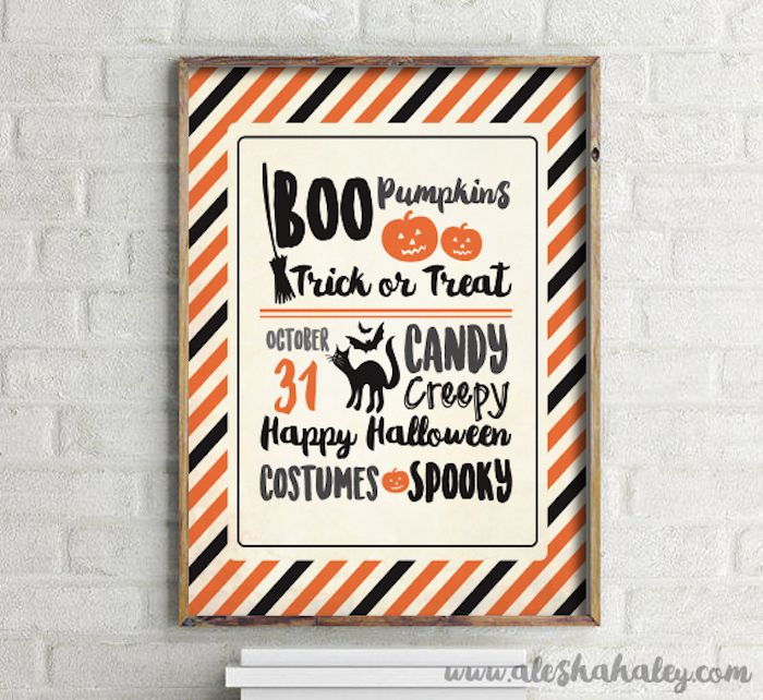Fabulous free Halloween printables -- October 31 collage