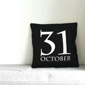 October 31 Pillow