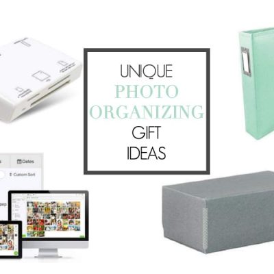 The Ultimate Photo Organizing Gift Guide