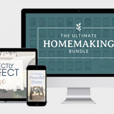 The 2020 Ultimate Homemaking Bundle Has Arrived!