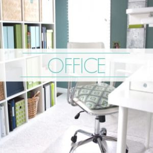 "organized home office - text ""office""."