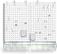 pegboard organizer for craft room.