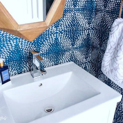 Coastal Bathroom Makeover Reveal: Modern, Minimal and Marvelous